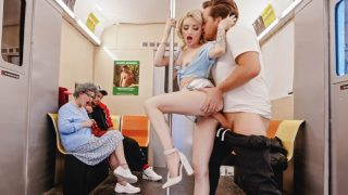 Brazzers – The Slutty Commuters Clumsy Joyride